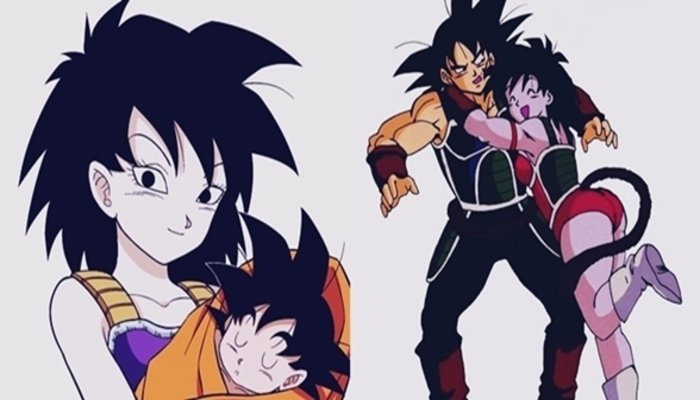 Who is Goku's Mother Gine