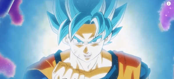 Super Saiyan Blue Goku Ki Control Dragon Ball Super