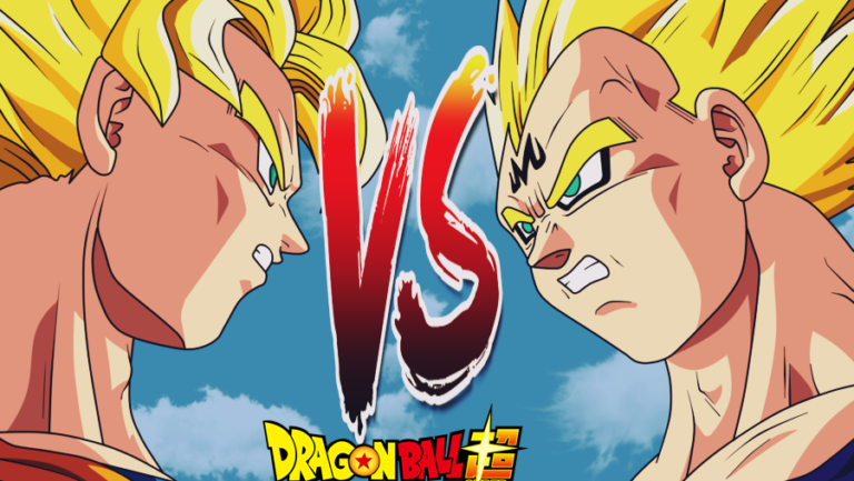 Goku Vs Majin Vegeta Dragon Ball Z Episode Fight
