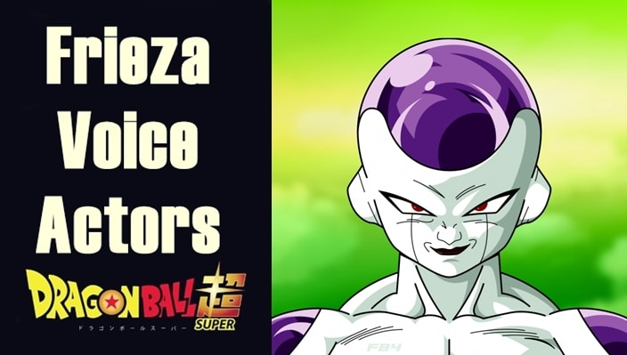 English voice actors for Frieza
