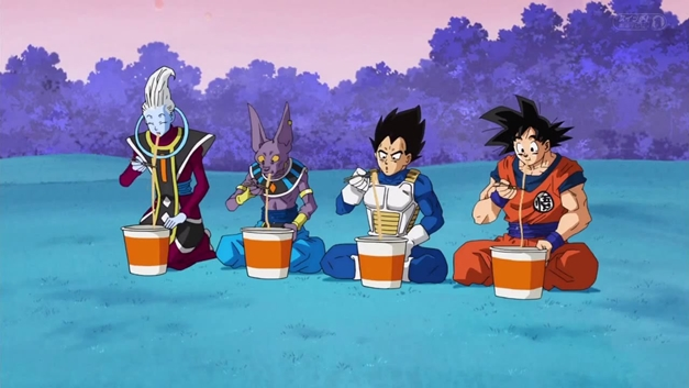 How Can Goku Eat So Much Food