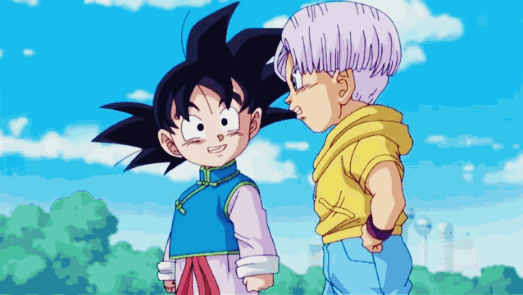 How Old is Goten in Dragon Ball