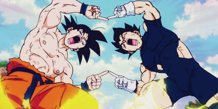 Goku and Vegeta Fusion Dance – Dragon Ball Anime