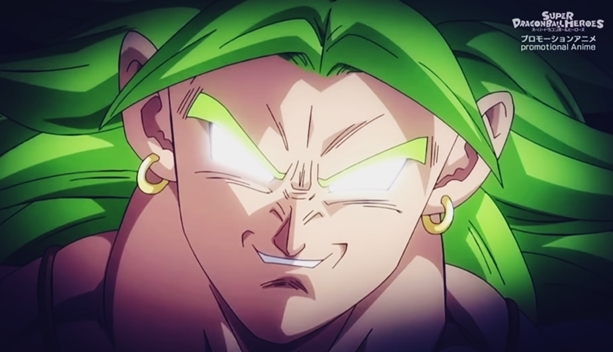 Dragon Ball Z Broly in Heroes