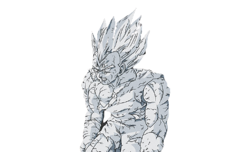Why Did Vegeta Turn to Stone