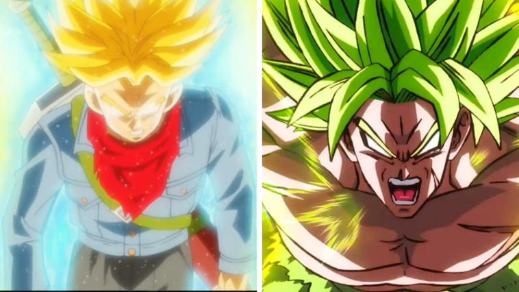 Trunks and Broly Rage Transformation: Who Copied Who?