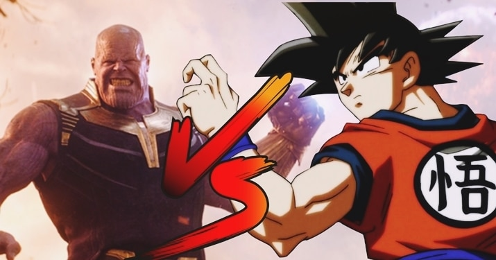 Goku Vs Thanos Which Character Would Win The fight?