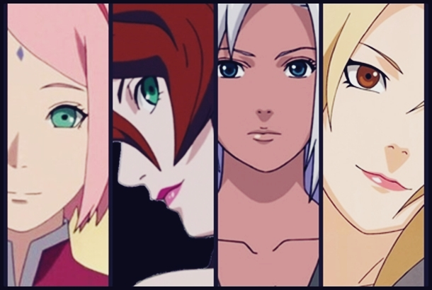 The Most attractive female Character In Naruto Series